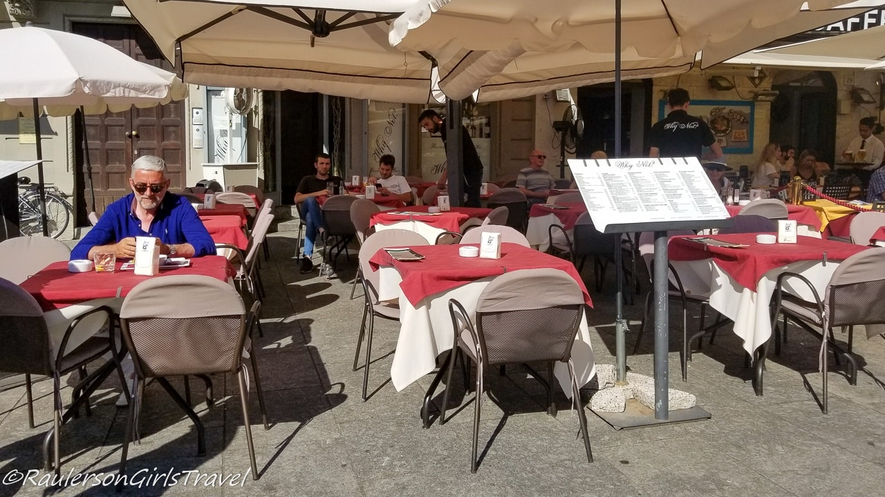 Why Not Restaurant in Como, Italy
