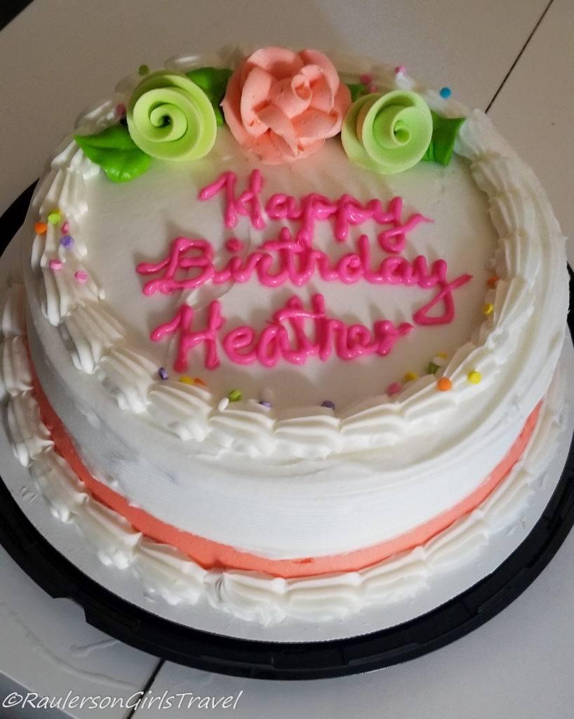 Birthday Cake - Celebrating Birthday Abroad