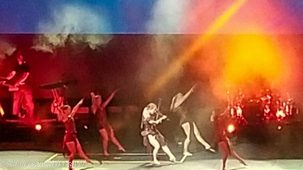 Lindsey Stirling concert - dancing