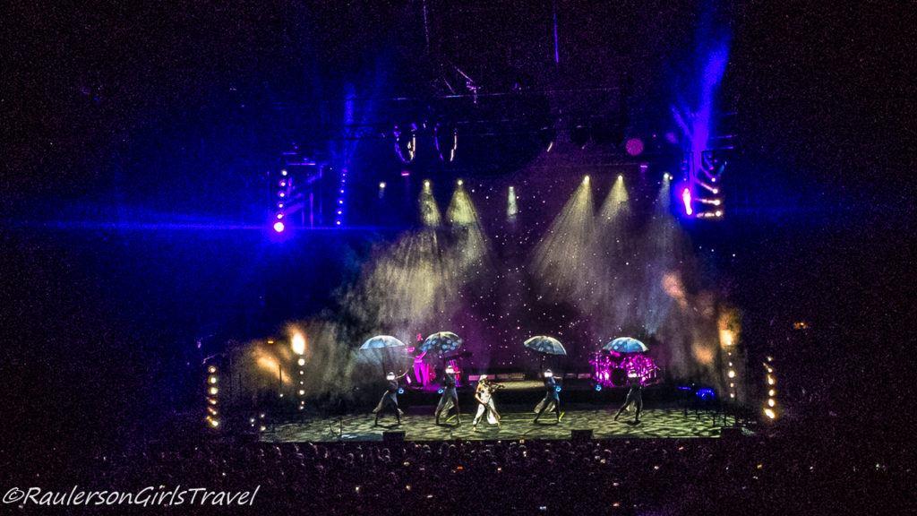 Lindsey Stirling concert - umbrella