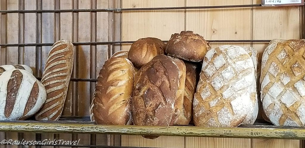 Loaves of Bread at Au Pain de Mon Grand-Pere
