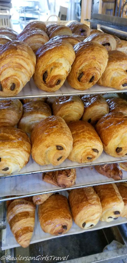 Pastries at Au Pain de Mon Grand-Pere
