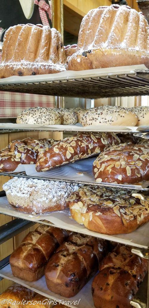 Bread at Au Pain de Mon Grand-Pere