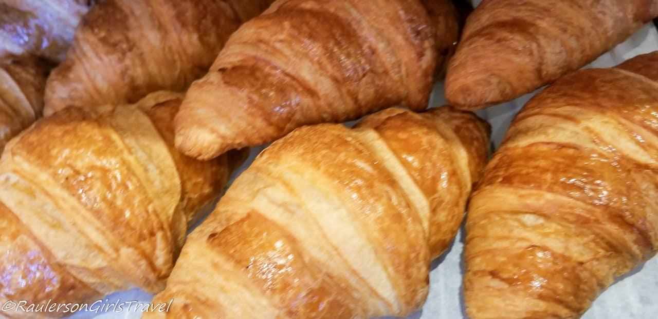Croissants at Au Pain de Mon Grand-Pere