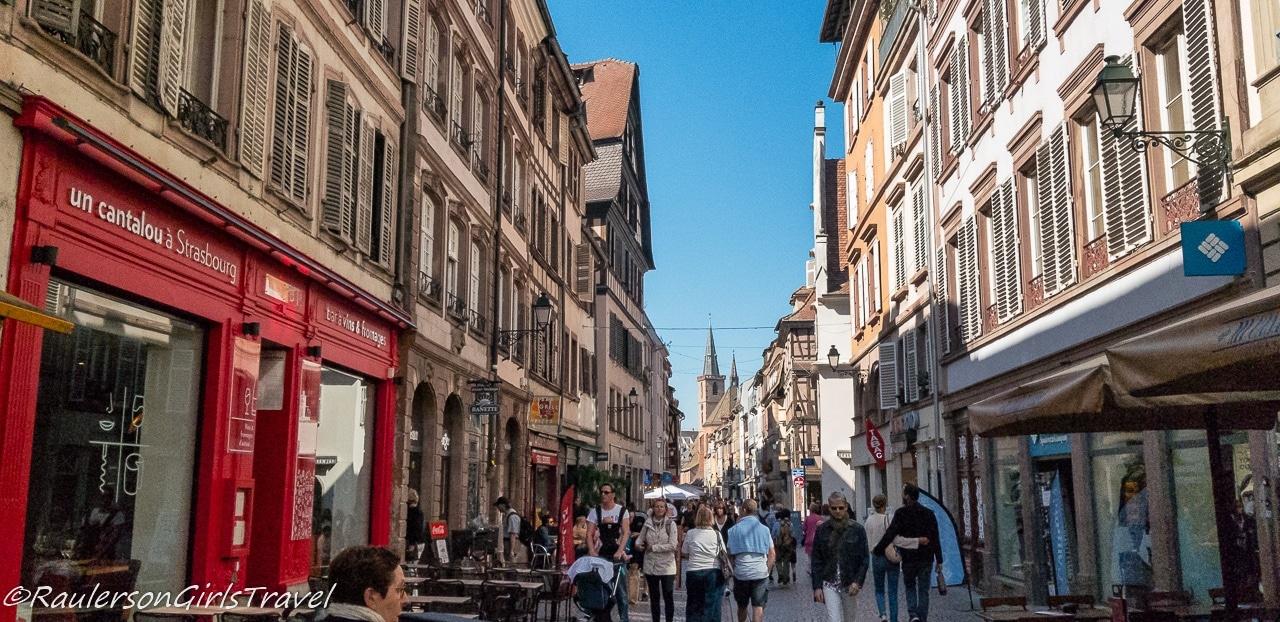 Street in Strasbourg