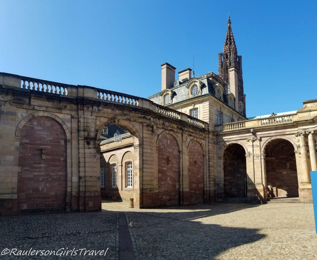 Gate for the Strasbourg Museum of Fine Art