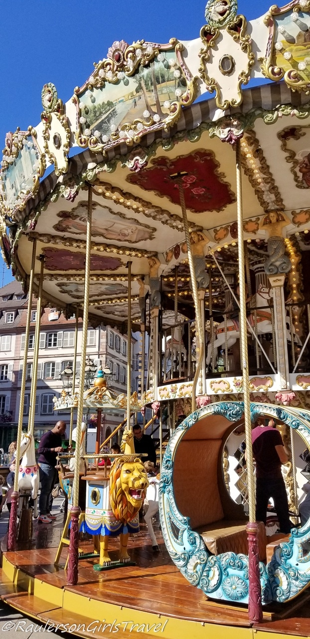 Carousel in Strasbourg
