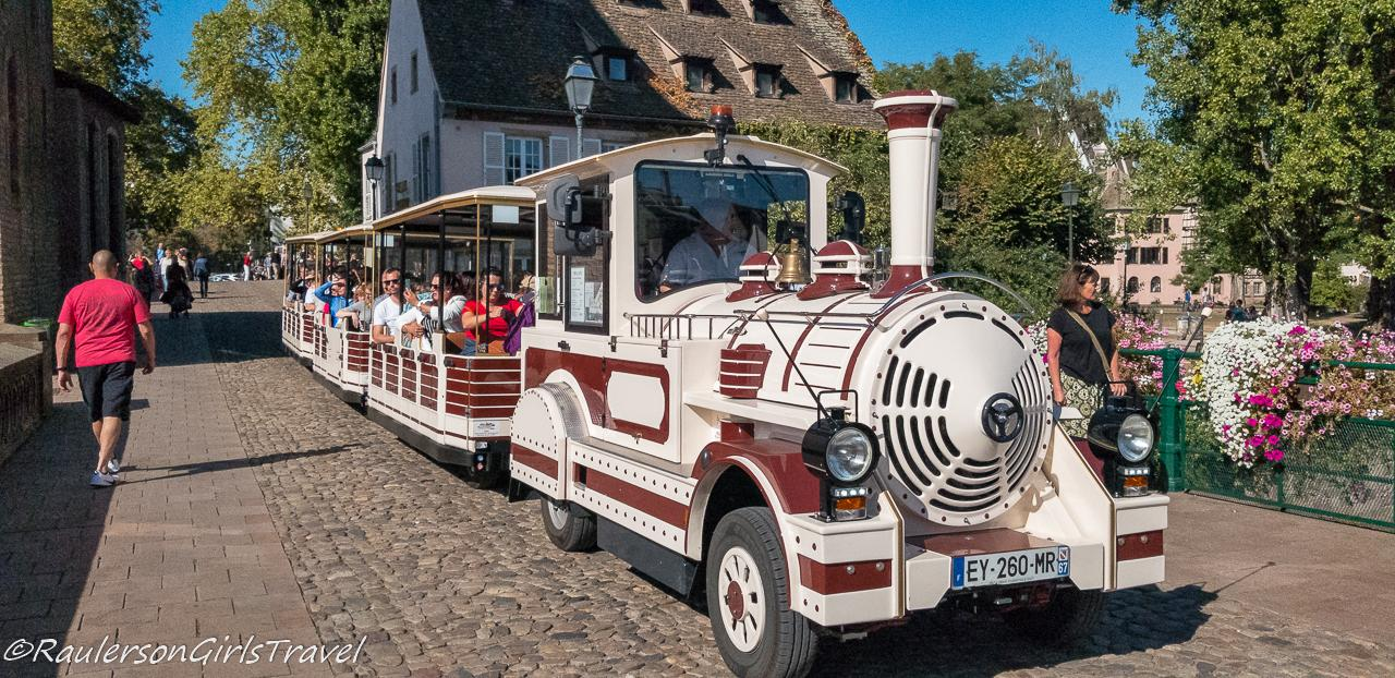 Train ride through Petite France - Things to do in Strasbourg