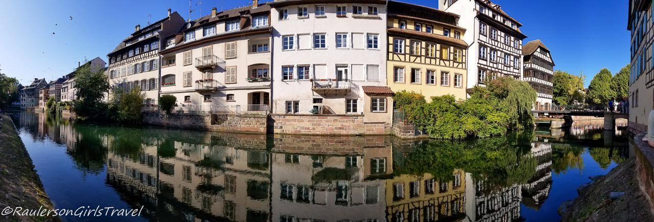View of the Strasbourg Canal