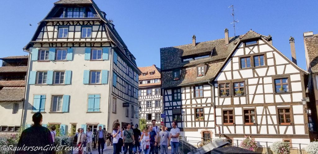 Beautiful timber-framed houses in Strasbourg