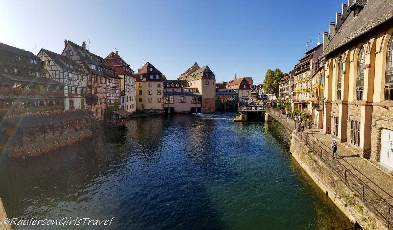 View along the Strasbourg Canal