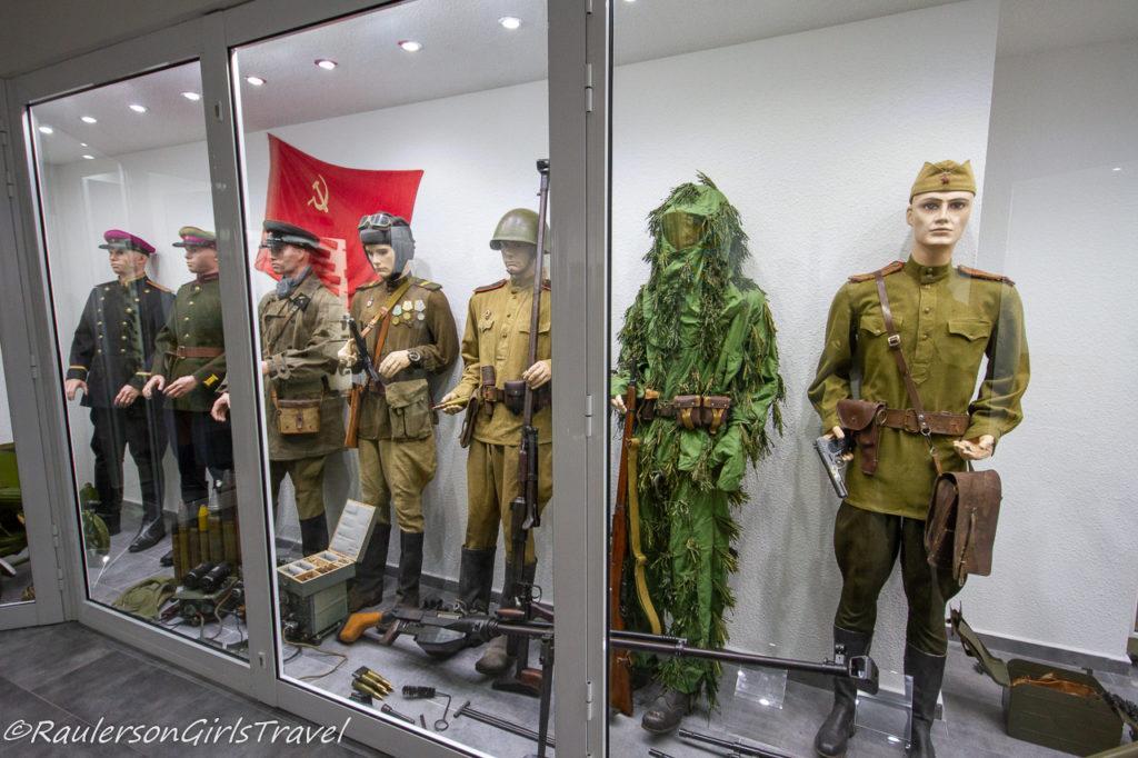 World War 2 Russian uniforms