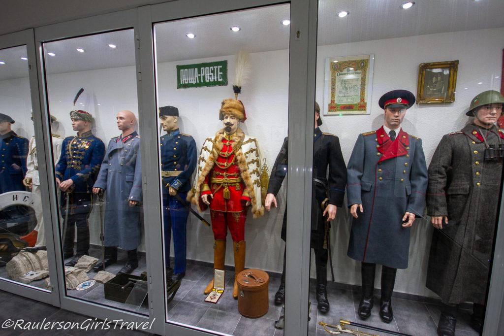 Russian WW2 uniforms display