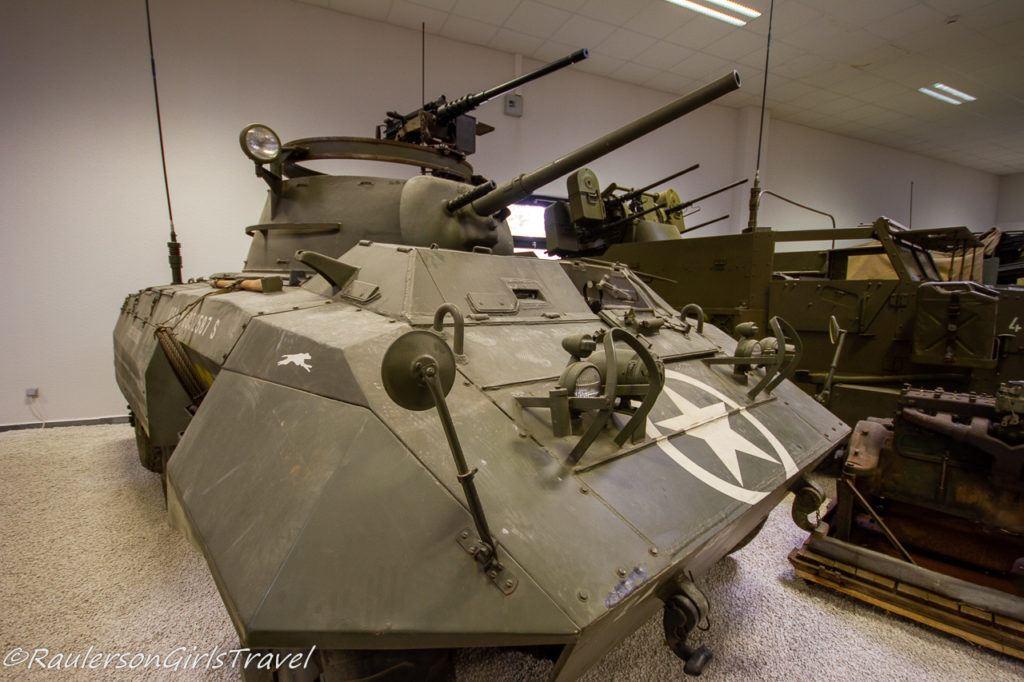 WW2 tank at MM Park France