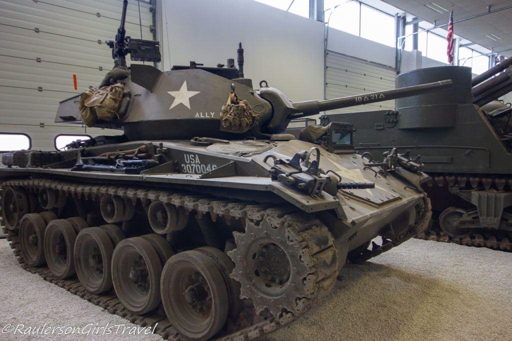 US WW2 tank
