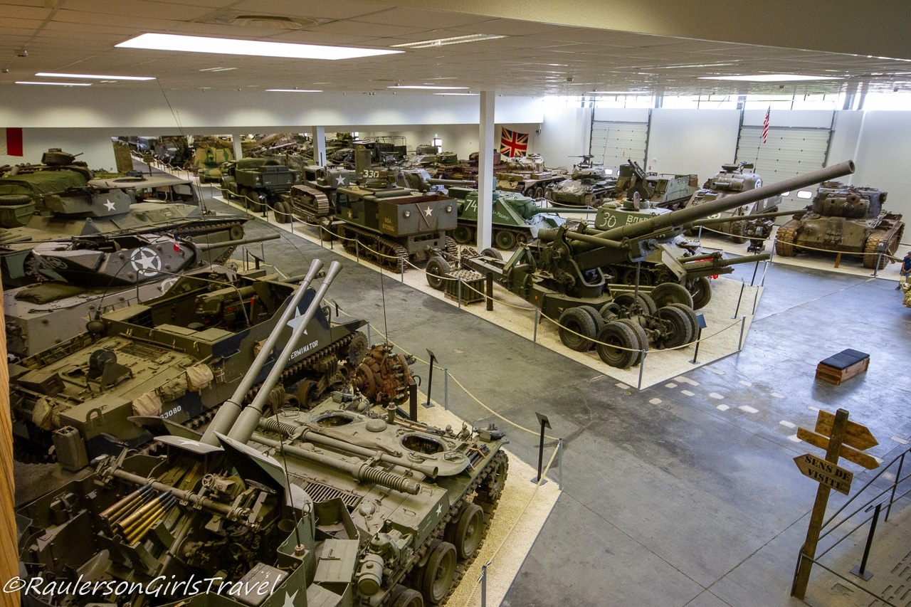 Tanks at MM Park France - WW2 Museum