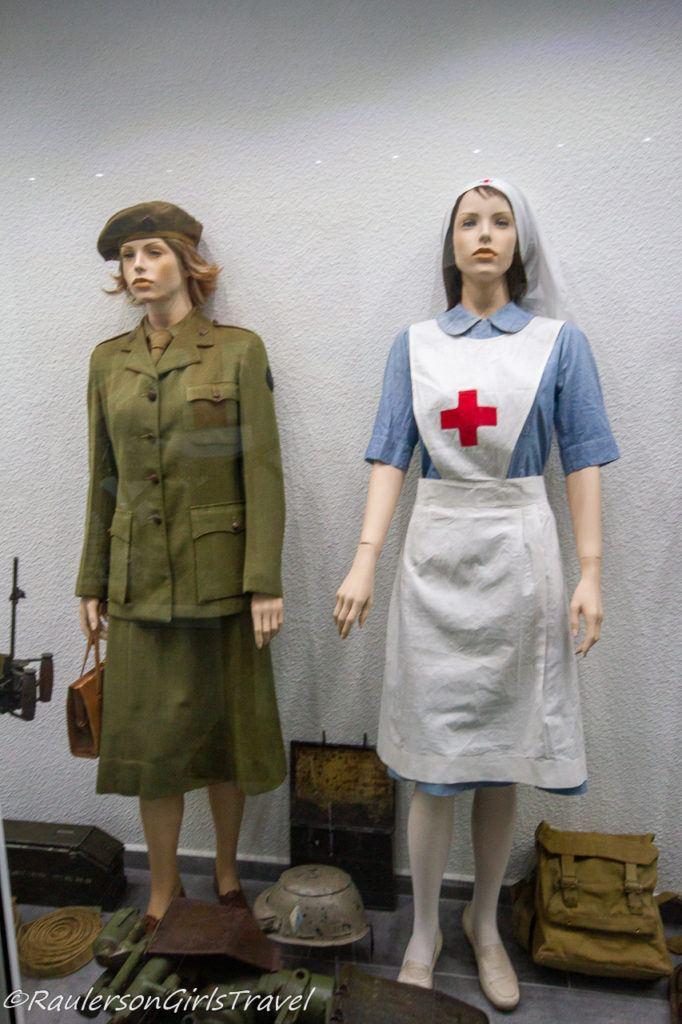 WW2 nurse uniforms