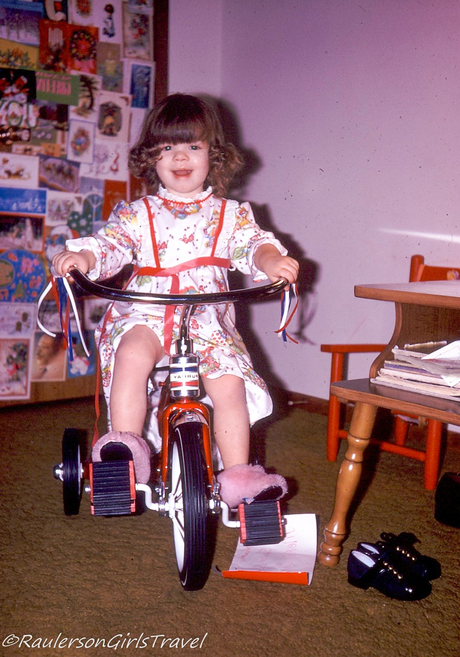 Heather on Tricycle