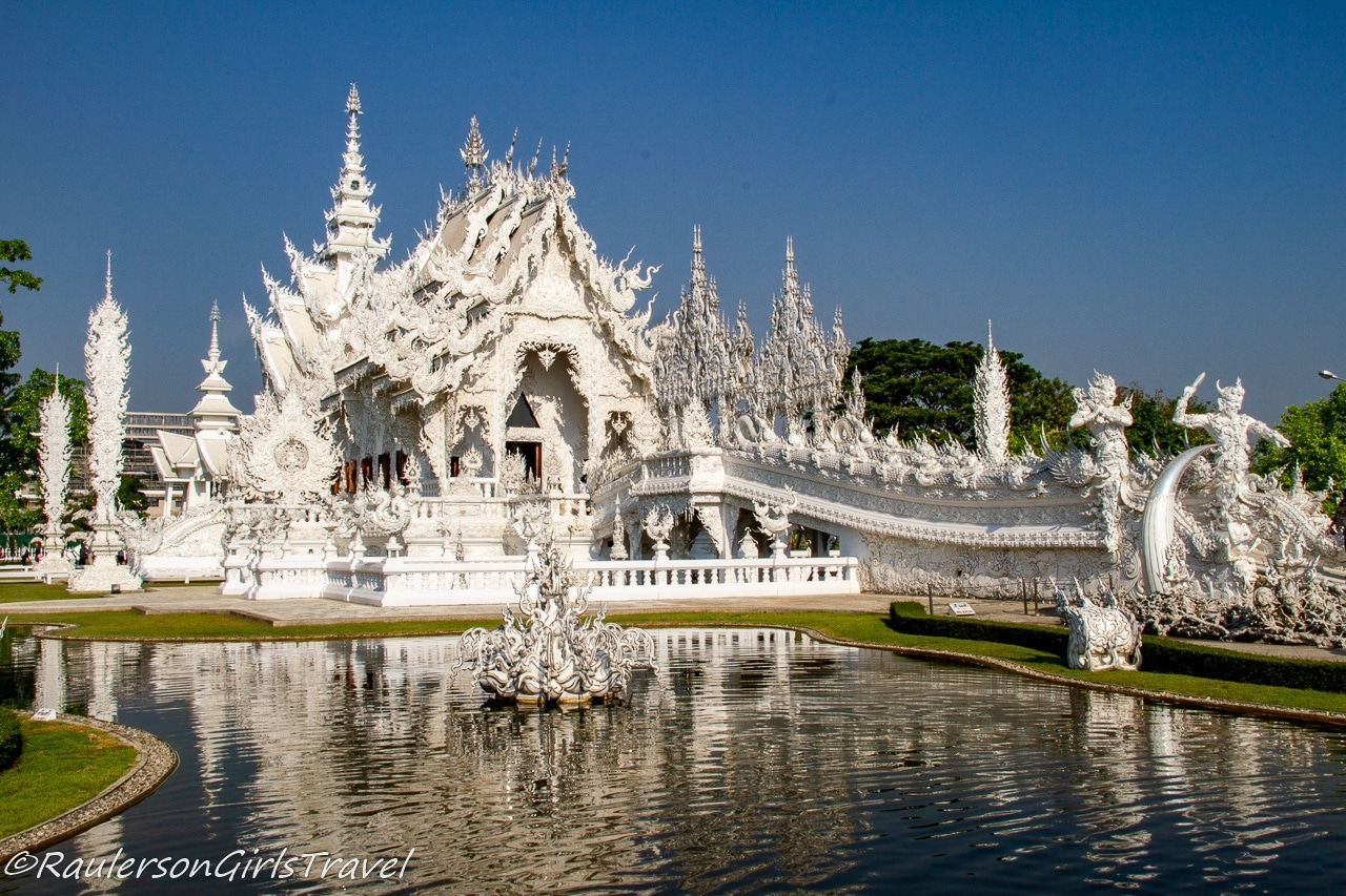 White Palace in Chiang Rai, Thailand