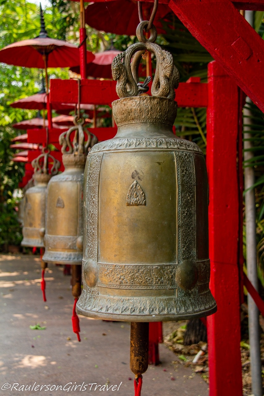 Temple Bells in Thailand