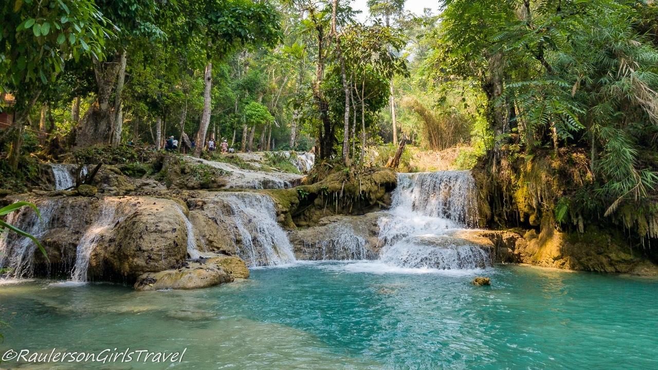Kuang Si Lower Waterfalls in Laos