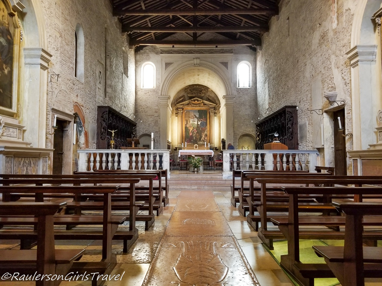 Church of St. Elena in the Cathedral Complex in Verona - things to do in Verona