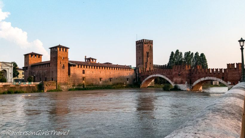 Castelvecchio next to the Adige River