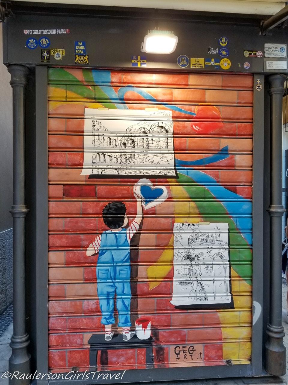 Street Art in Verona