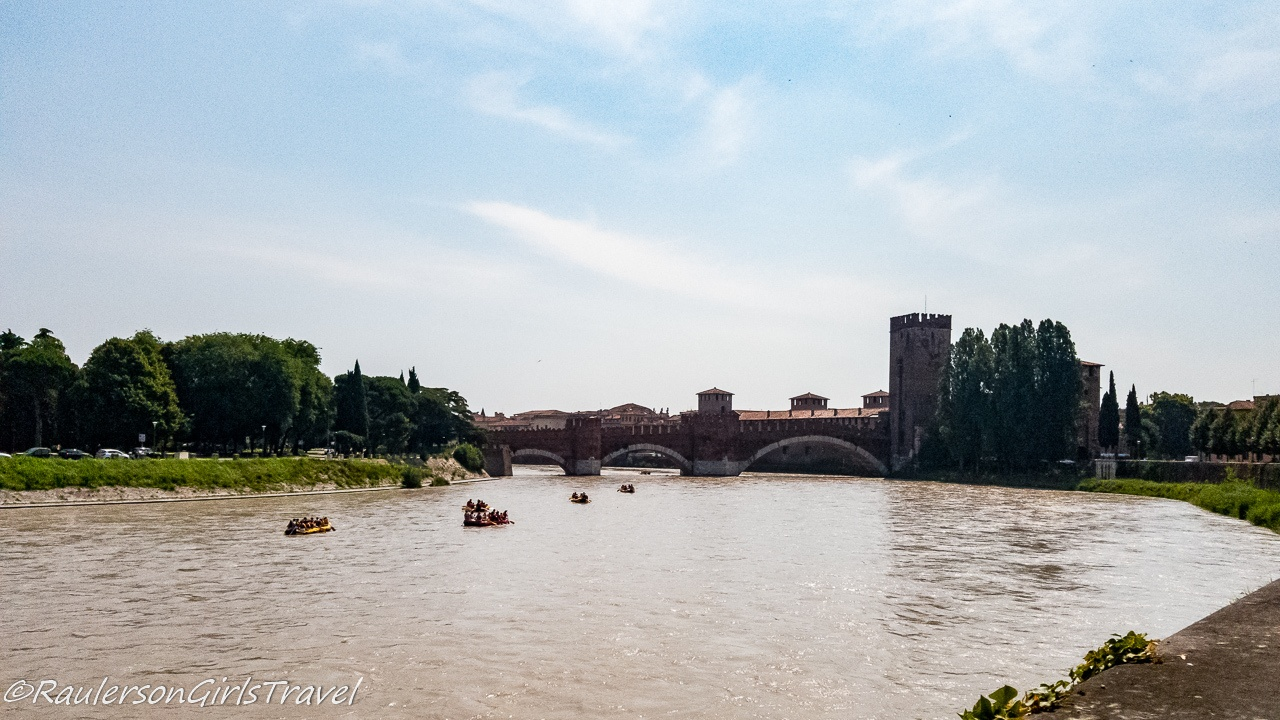Rafting on Adige River in Verona