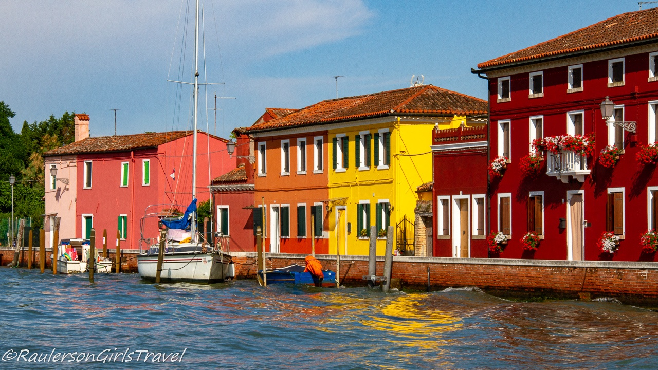 Colorful Houses in Mazzorbo, Italy