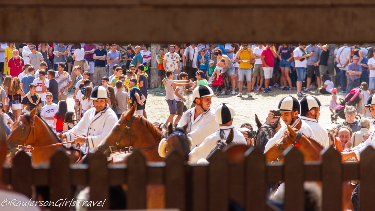 Palio di Siena - Horse Race in Siena, Italy