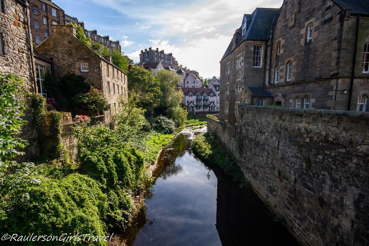 Dean Village in Scotland
