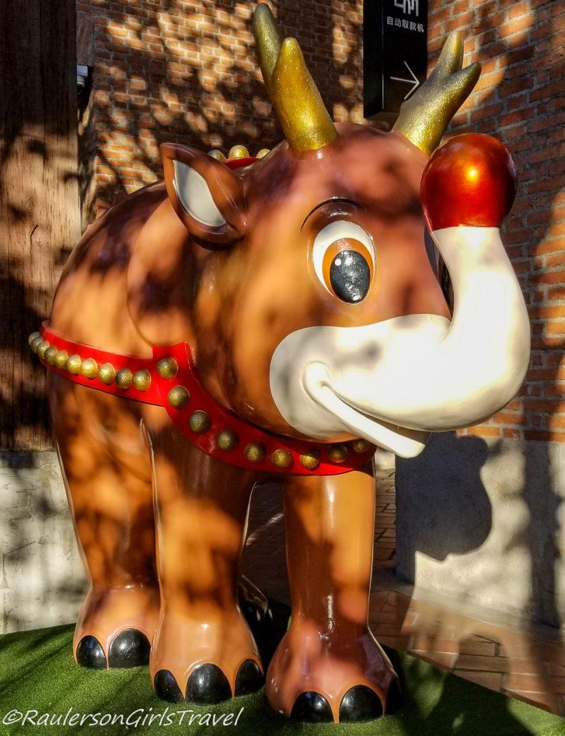 Rudolph Reindeer Elephant