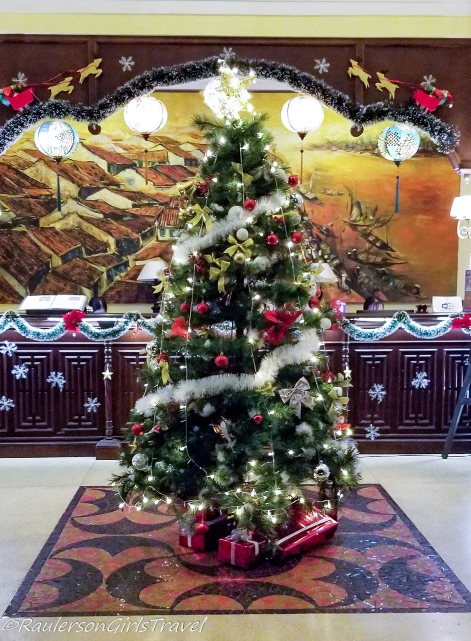 Christmas Tree in La Residencia in Hoi An, Vietnam - Holidays Abroad