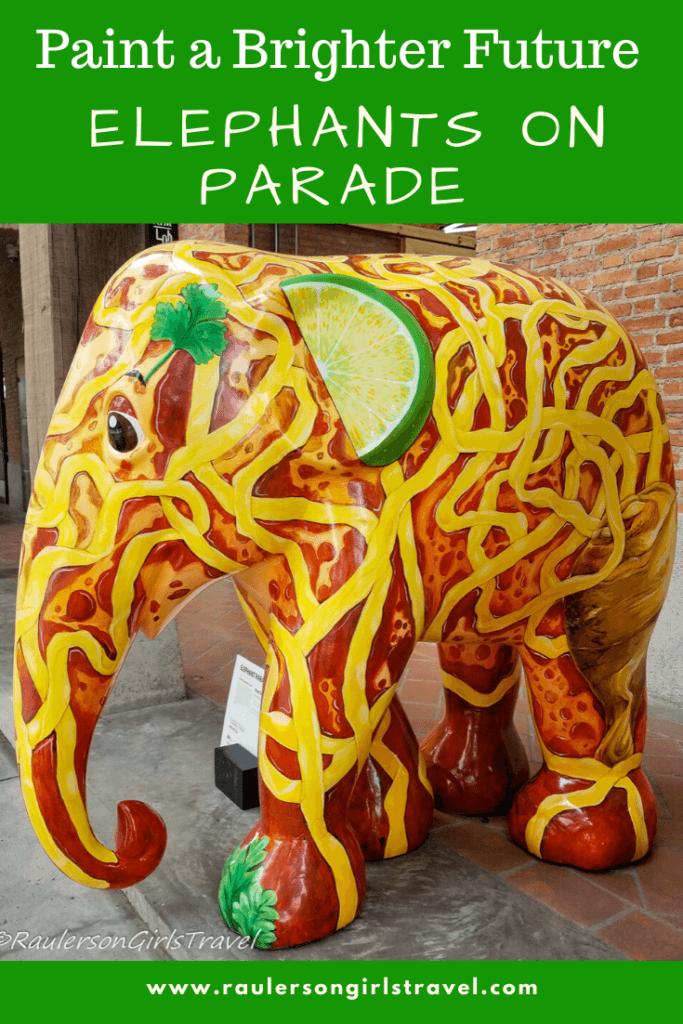 Elephants on Parade Pinterest Pin