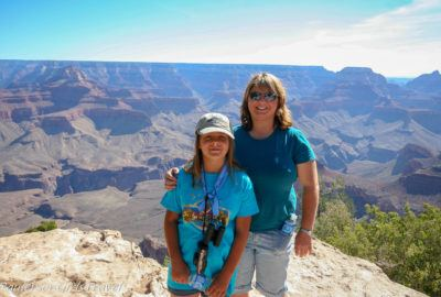 Heather and Kayla at Grand Canyon