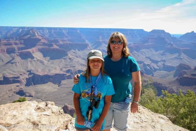 Heather and Kayla at Grand Canyon