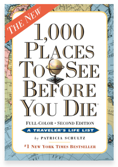 1000 Places To See Before You Die - best travel books