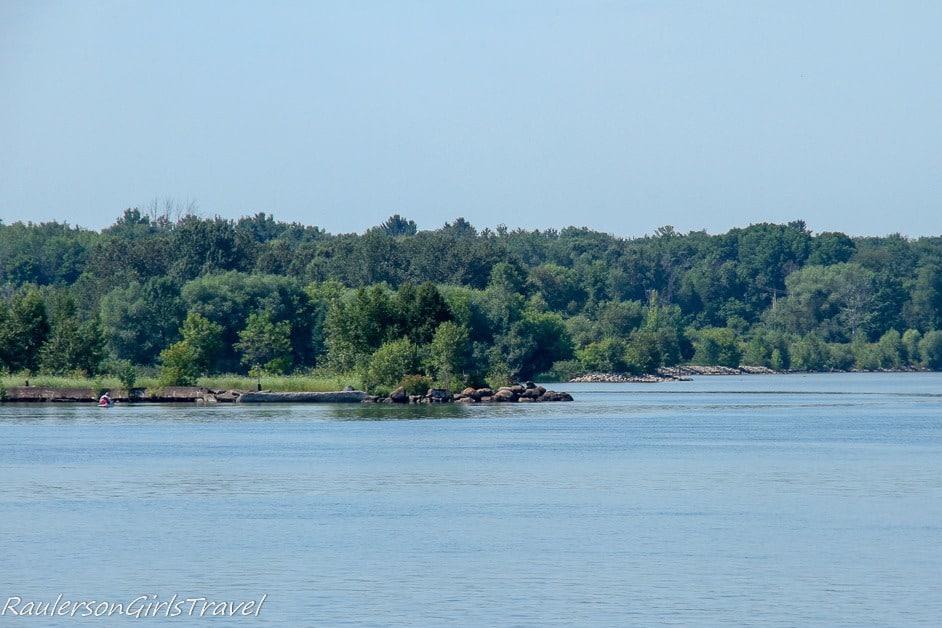 The Coastline of Lower Michigan along Lake Superior