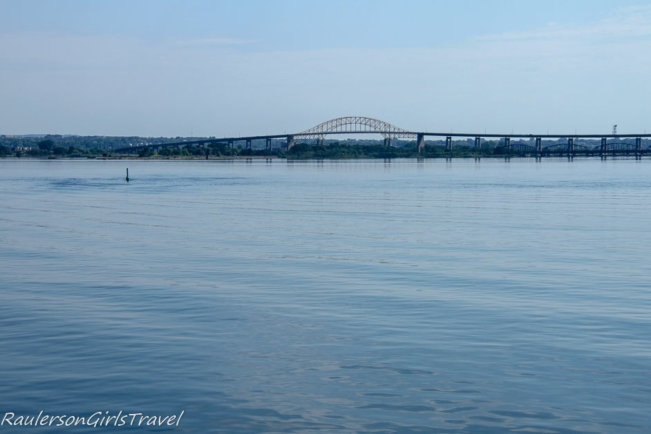 Lake Superior and the Sault Ste. Marie International Bridge