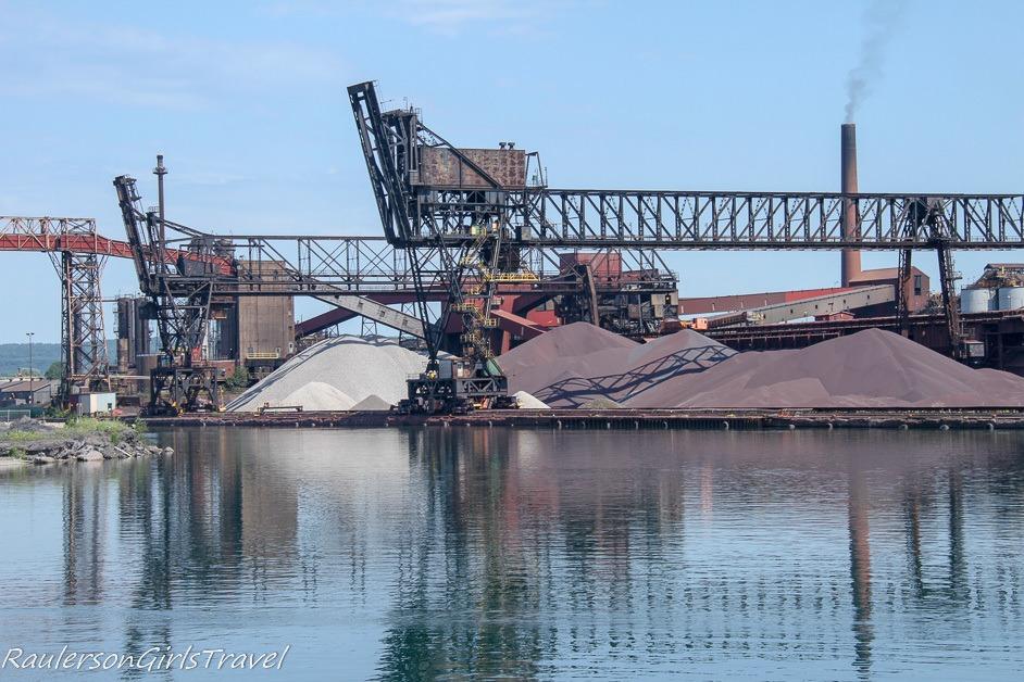 Algoma Steel Inc. on St. Mary's River