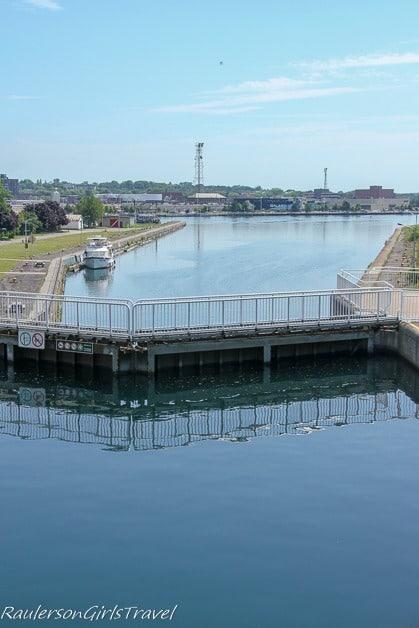 Inside the Canadian Soo Locks