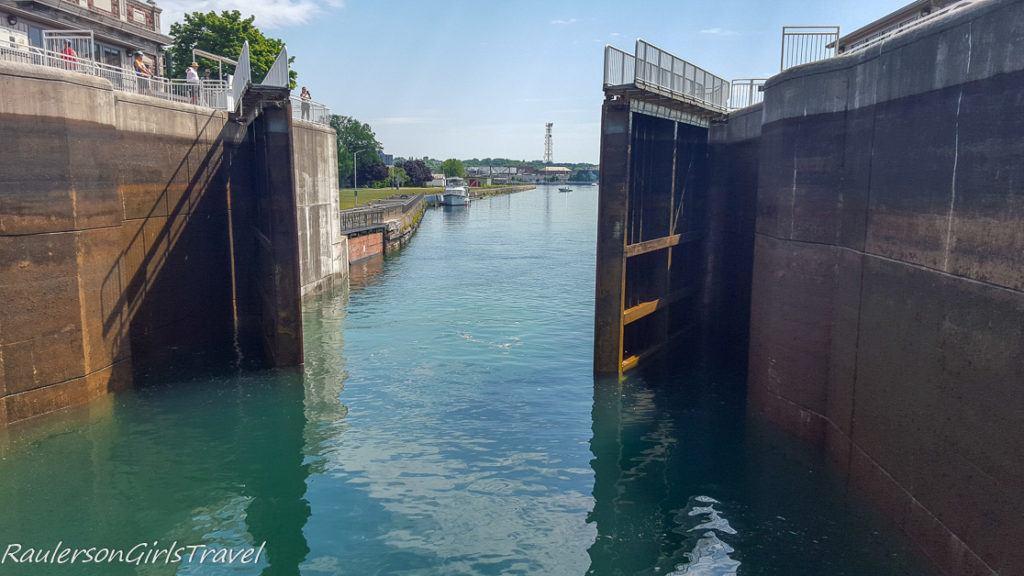 Exiting the Canadian Soo Locks
