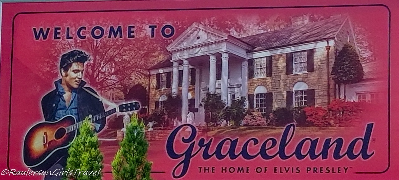 Welcome to Graceland sign