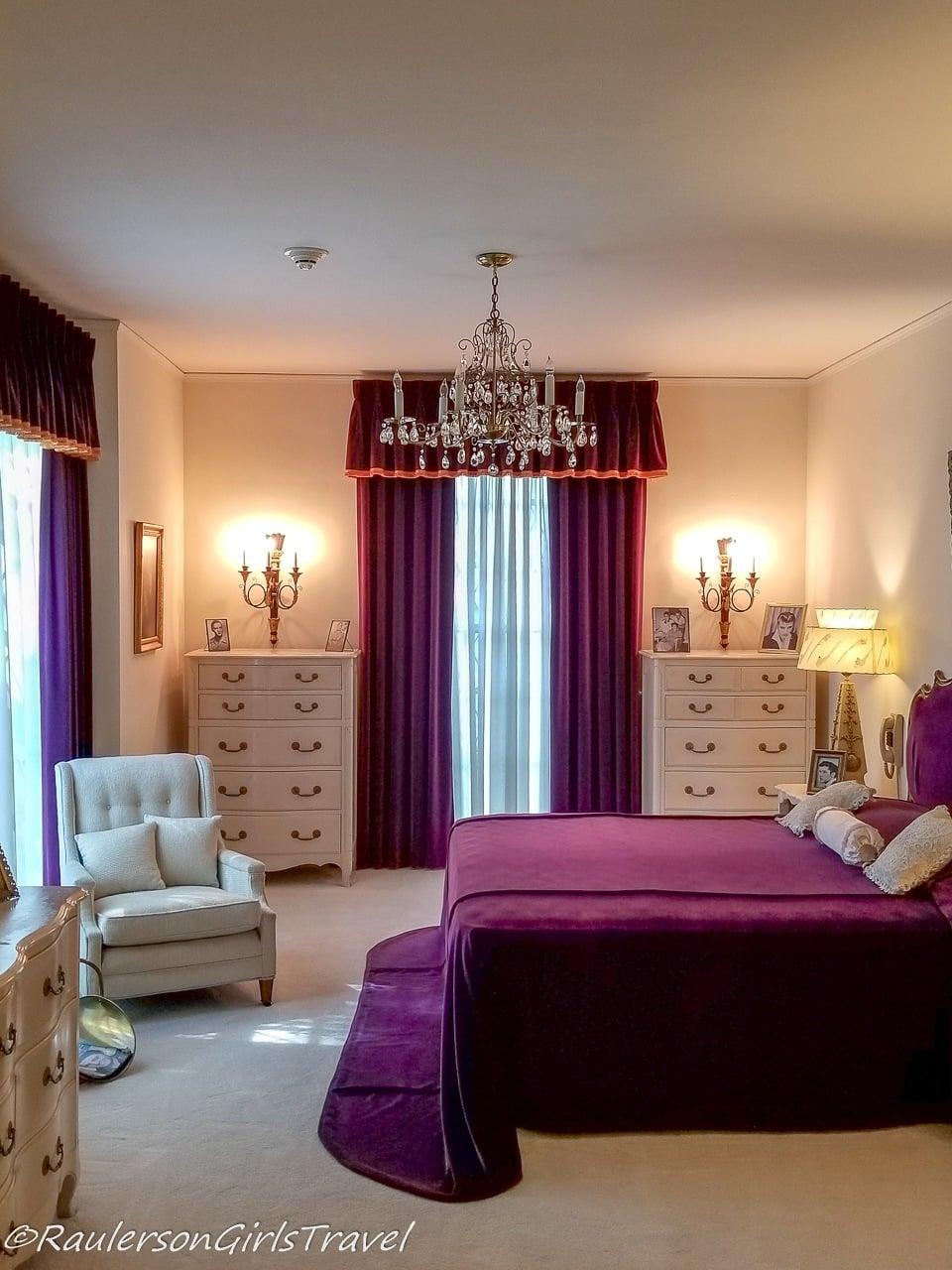 Parent's Bedroom in Graceland