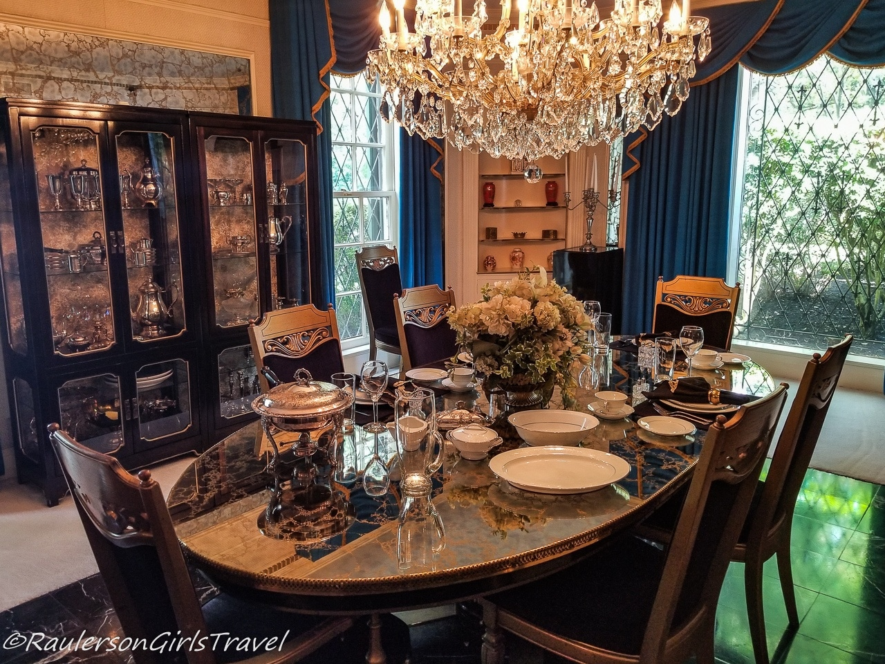 Dining Room in Graceland