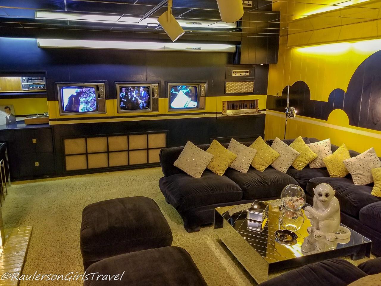 TV Room in Graceland