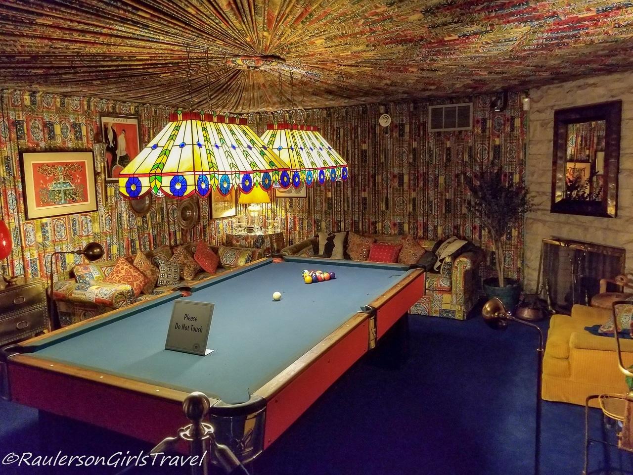 Pool Room in Graceland