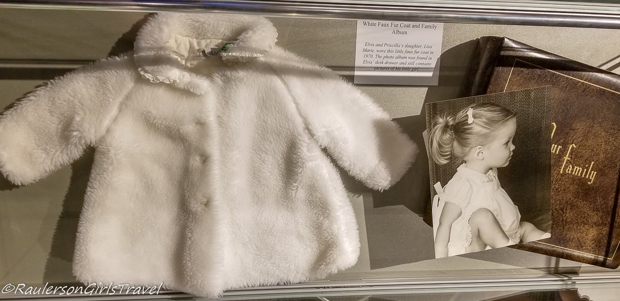 Lisa Marie's coat and family album