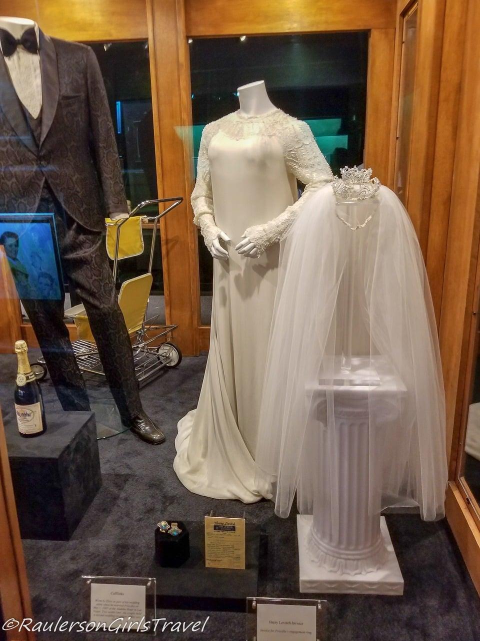 Elvis and Priscilla's Original Wedding Attire